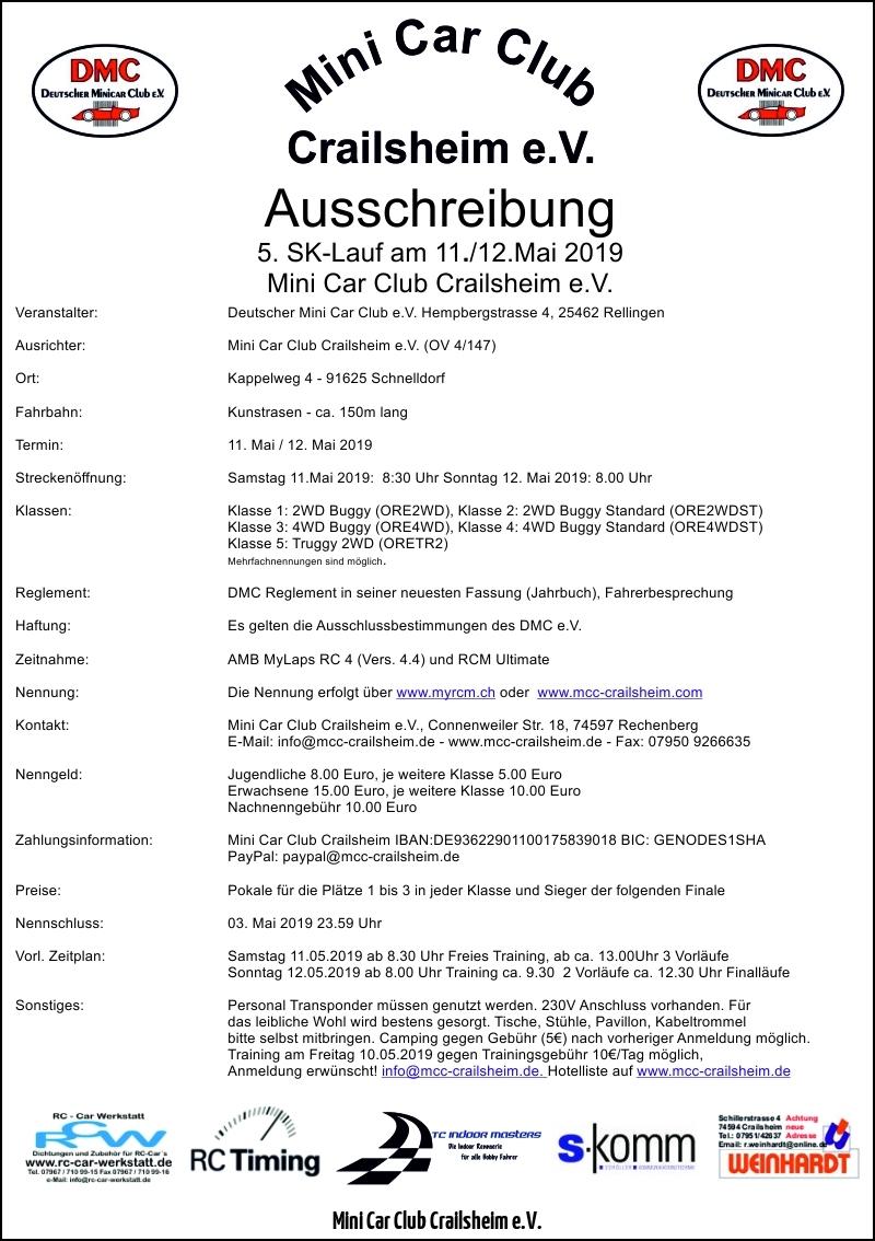 A1-Ausschreibung-5.SK-Lauf-2019